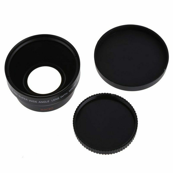 67mm Digital High Definition 0.43×SuPer Wide Angle Lens With Macro Japan Op