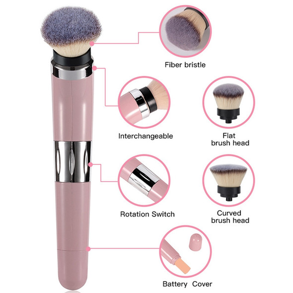 Electric Makeup Brush with 360 Degree Rotating Automatic Smart Cosmetics Bl