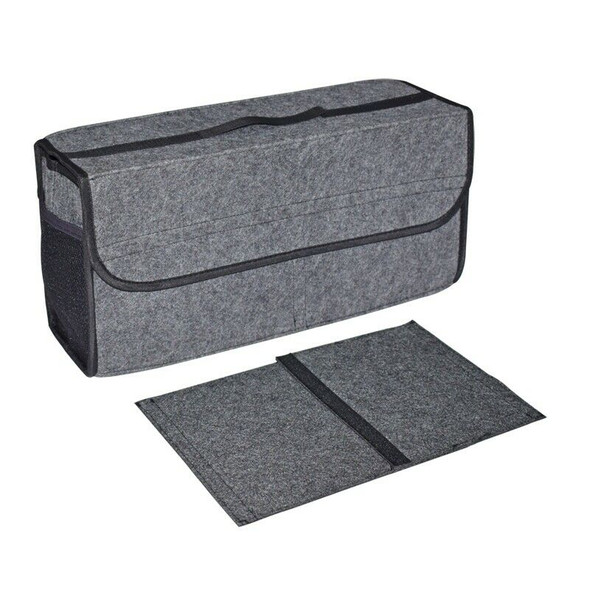 Car Felt Storage Box Trunk Bag Vehicle Tool Box Multi-Use Tools Organizer B