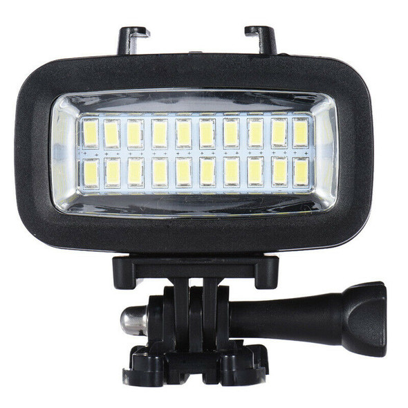 Power 700LM Diving Video Fill-in Light LED Lighting Lamp with Diffuser for