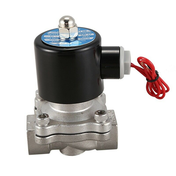 Stainless Steel Electric Solenoid Valve 220V DN15 Pneumatic Valve for Water