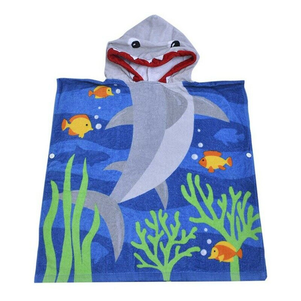 Hooded Bath Towel for Kids Boys Girls Toddler Age 2 to 6 Years, 100% Cotton