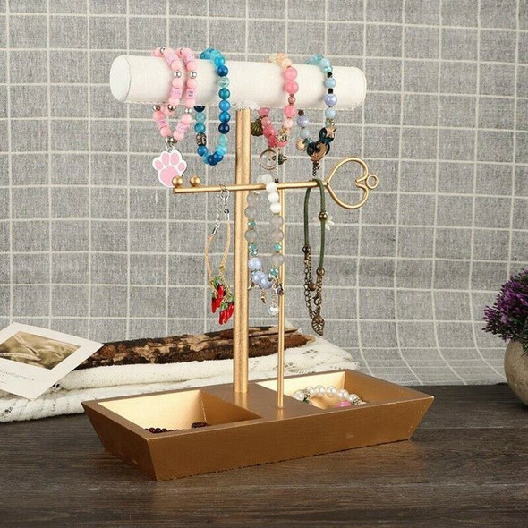 Fashion Nordic Style Jewelry Hanging Rack Desk Decor Ornament Bracelet Neck