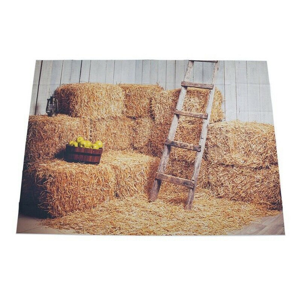 Haystack Stacked barn printed newborn photography backgrounds background St