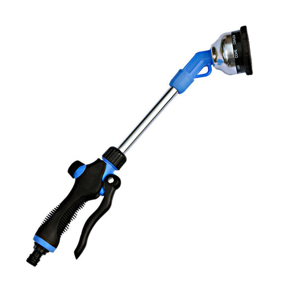 Nine-Function Long Rod Sprinkler Garden Irrigation Watering Car Wash Jet Cl