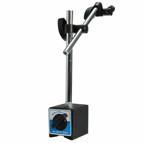 Magnetic Base Holder With Double Adjustable Pole For Dial Indicator Test Ga