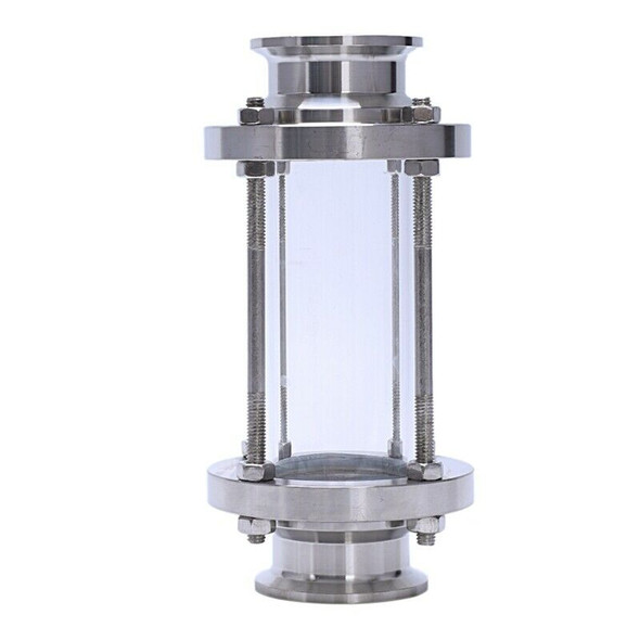 In-Line Sight Glass with Clamp End,Flow Sanitary Straight Sight Glass SUS31