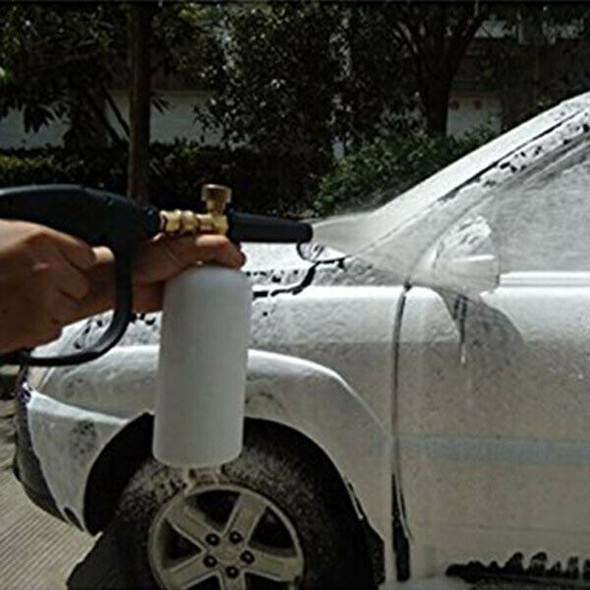 1L Car Wash Pressure Washer Jet Wash Quick Release Adjustable Snow Foam Lan
