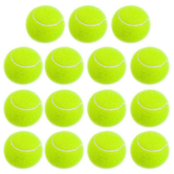 Practice Tennis Balls, Pressureless Training Exercise Tennis Balls, Soft Ru