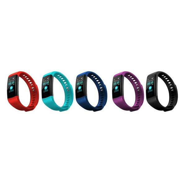 New Adjustable Bands Y5 Smart Watch Sports Fitness Activity Heart Rate Trac