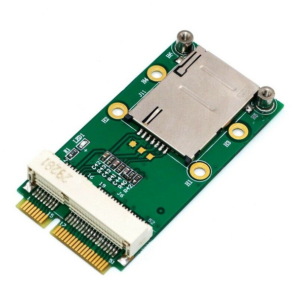 Mini PCI-E Express To PCI-E Adapter with SIM Card Slot for 3G/4G WWAN LTE G