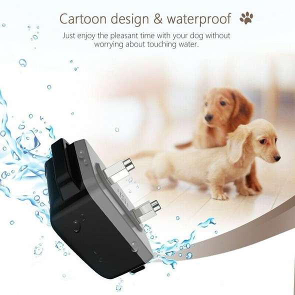 Dog Training Collar Rechargeable Shock Collar for Small To Large Dogs with