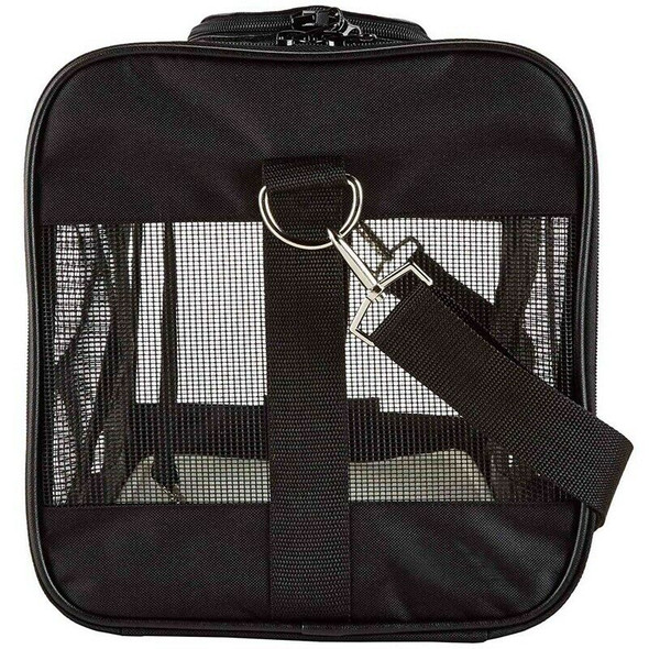 Collapsible Pet Carrier For Cat And Puppy,Top Loading, Sturdy Bottom, Adjus