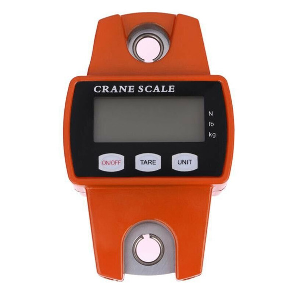300Kg Mini Crane Scale Portable Lcd Digital Electronic Stainless Steel Hook