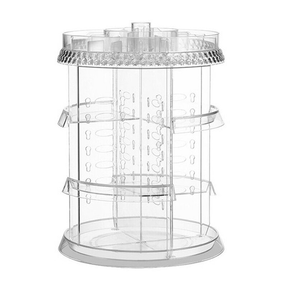 4 Layer 360° Rotating Holder Large Cosmetic Storage Makeup Organizer Drawer
