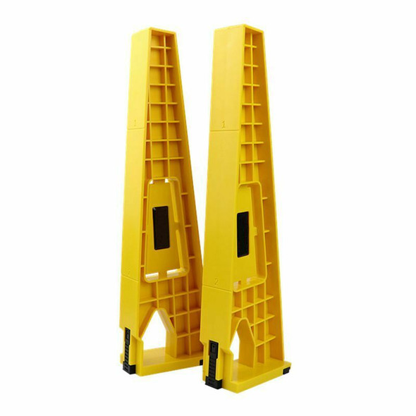 2pcs Drawer Slide Jig Set Mounting Tool For Cabinet Furniture Extension Cup
