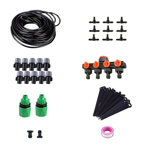 30M Garden Diy Micro-Drip Irrigation System Plant Self Automatic Watering T