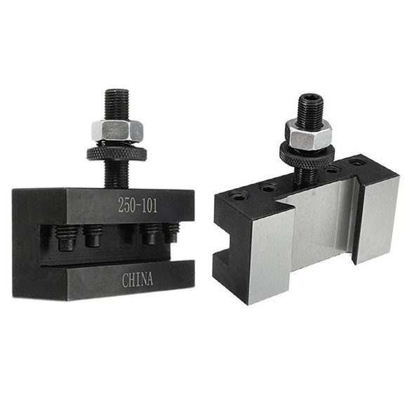 2PCS Quick Change Turning and Facing Holder 250-101 for Lathe Tool Post Hol