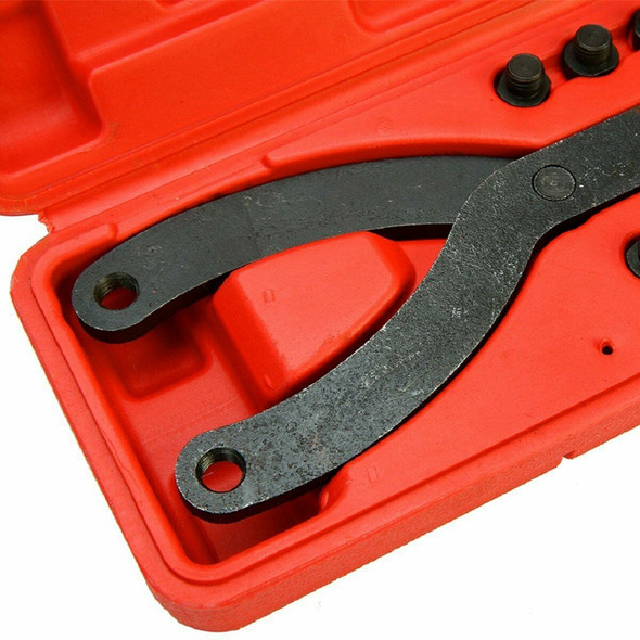 1/2 Inch Dr Adjustable Variable Pin Spanner Wrench Tool Pulley Puller Remov