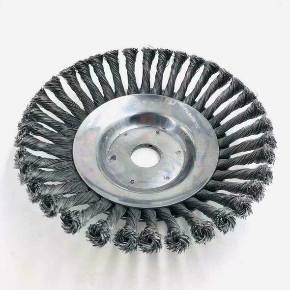 Landscaping Rotary Brush Joint Knot Steel Wire Wheel Brush Disc Power Tool