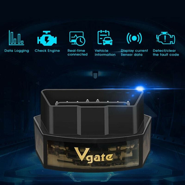 Vgate Icar Pro Bluetooth 3.0 Obd2 Scanner For Android/Ios Auto Elm 327 Car