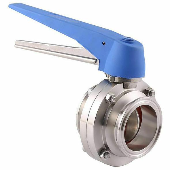 1-1/2 inch 38mm SS304 Stainless Steel Sanitary 1.5 inch Tri Clamp Butterfly