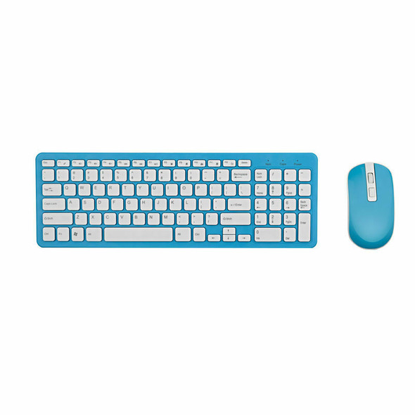 2.4G Optical Wireless Keyboard Mouse Kit Wireless Mouse Usb Receiver Combo