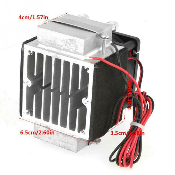 1X(2-Chip 12V 240W Electronic Semiconductor Refrigeration Diy Air Cooling S