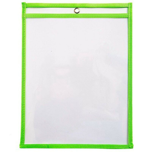 25Pcs Dry Erase File Folder 8.5X 11 Inch Document Bag Perfect Classroom Org