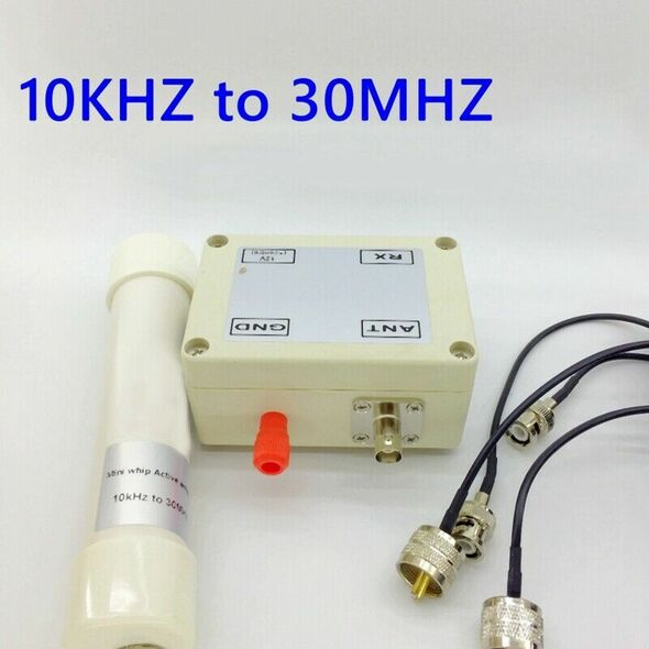 Active Antenna 10Khz To 30Mhz Mini Whip Hf Lf Vlf Vhf Sdr Rx With Portable