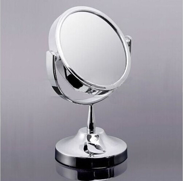 Women Beauty Make up Cosmetic Double Side Normal + Magnifying Stand Mirror ME