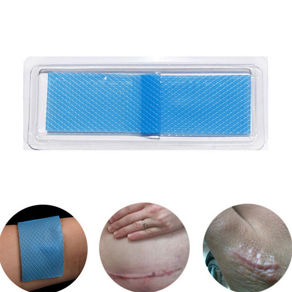 Scar Silicon Patch Removal Patch Reusable Acne Gel Remove Skin Repair  -Q