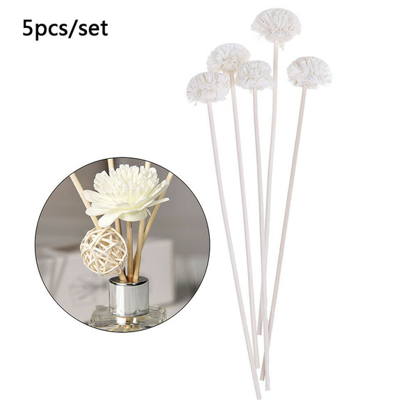 5pcs Flower Rattan Reeds Fragrance Diffuser Non-fire Replacement Refill Stic №[