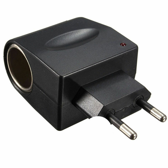 EU Plug 220V AC Power to 12V DC Car Cigarette Lighter Converter Adapter LJ