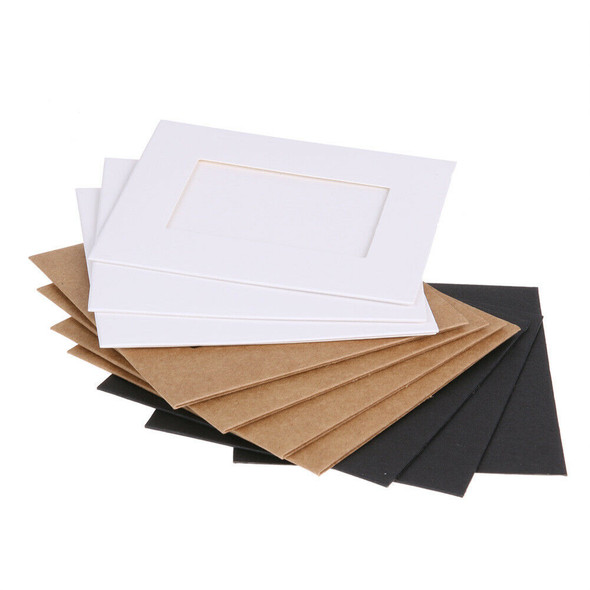 10pcs 3 inch Wall Hanging Photo Paper Frame Picture Display Modern Art Home #gib