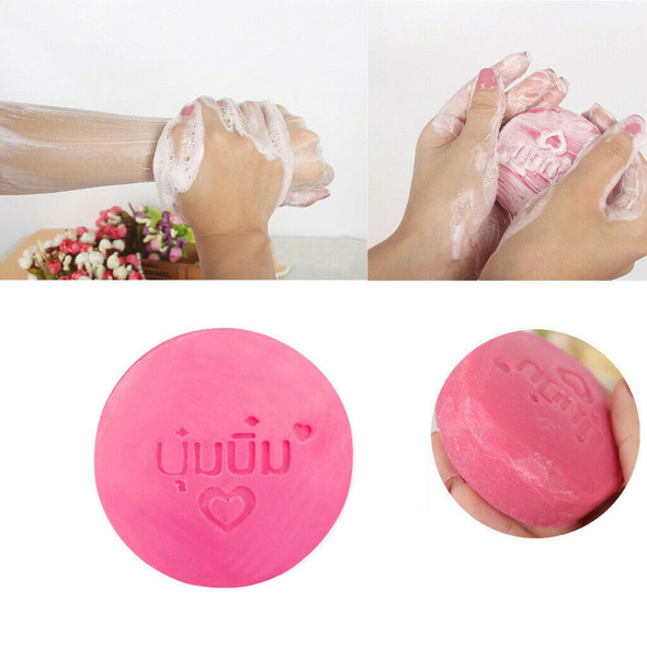 Instant Miracle Whitening Soap Moisturizing Skin Care Oil Control Deep Cleaning
