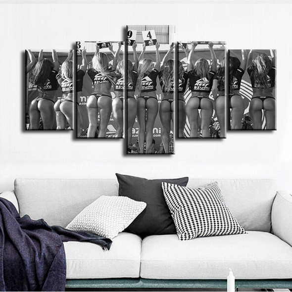 5Pcs/Set Beautifully Contest Canvas Wall Painting Picture Home Office Decoration