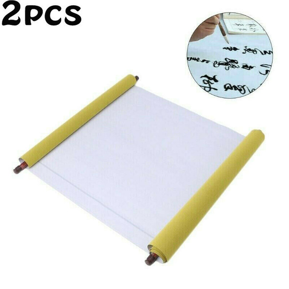 2PCS Reusable Chinese Magic Cloth Water Paper Calligraphy Fabric Notebook AU