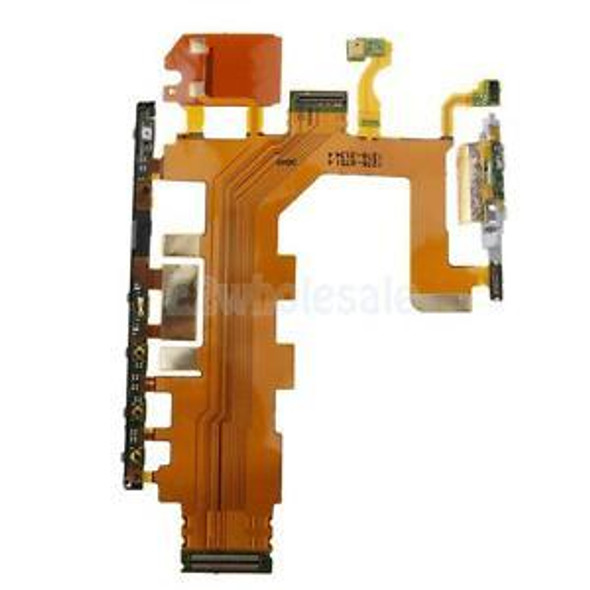 New On/Off Power Volume Button Key Flex Cable for Sony Xperia Z2 D6502 D6503