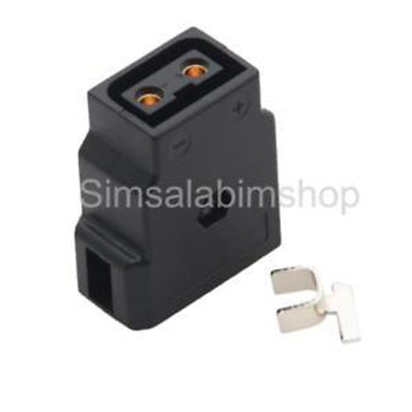 2 Pieces D-Tap Dtap Power Type B Female Connector Plug for DSLR Camcorder
