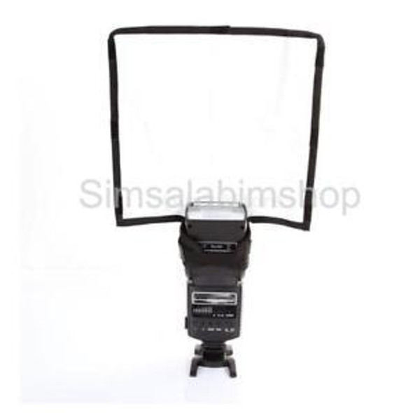 Foldable Speed Flash Diffuser for Canon 540EX 430EXII 600EX Camera