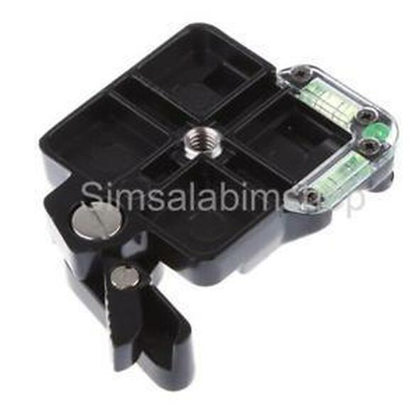 Camera Tripod Quick Release Plate Clamp Adapter w/ Double Insurance Button