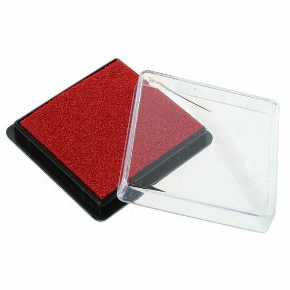 Ink pad stamp pad for wedding letter Document red I1T4