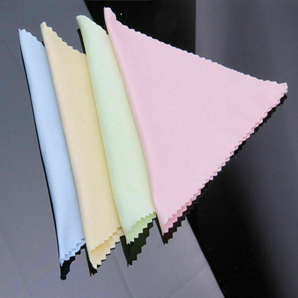 20pcs Microfiber Square Clean Cleaning Cloth For Phone Screen Lens Eye Glasses