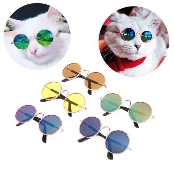 Fashion Pet Glasses for Small Dogs Puppy Cat Sunglasses Photos Props Decor SN9F
