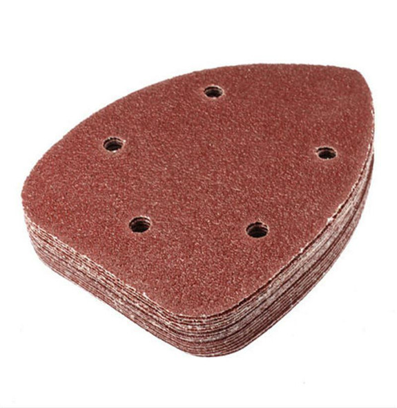 Precision Hot 30 Sand Paper Pads 90mm Triangle 80 Grit Sanding 3C