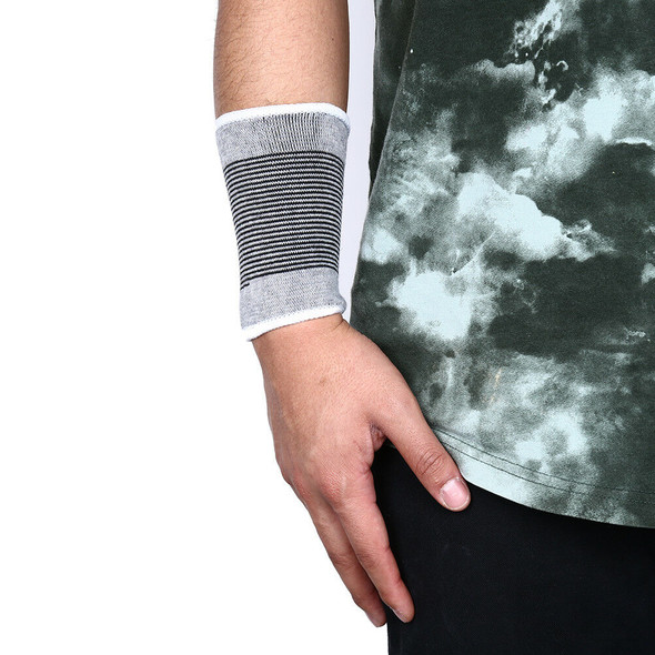 1PC Wrist Support Sweat Band Sweatband Wristband Basketball Tennis Gym YoES