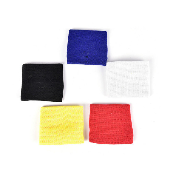 1pc Wrist Sweatband Athletic Sports Wristband Armband Wallet Zipper Pocket .ES