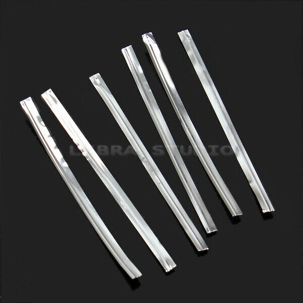 Hot Sale 800x 8cm Metallic Twist Ties For Cake Candy Sealing Bags Lollipops Pack