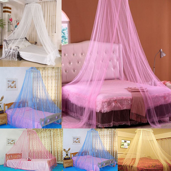 1 piece Elegant Dome Mosquito Net Fly Insect Midges Protection Bedding Durable